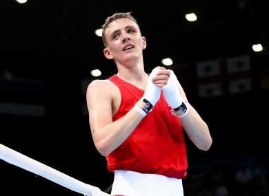 19-year-old Irish light-flyweight Brendan Irvine.