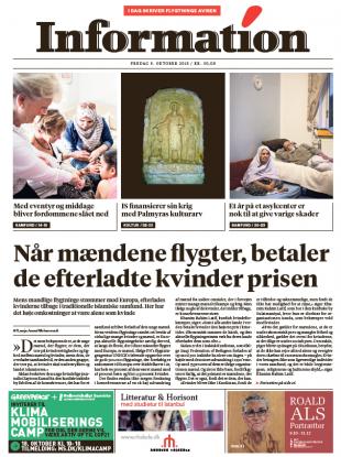 Today's Dagbladet Information