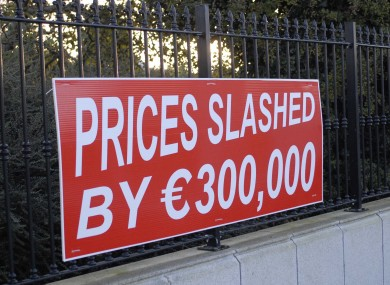 House prices in the village of Ballyboughal, in north Co Dublin, have dropped by up to 30%.