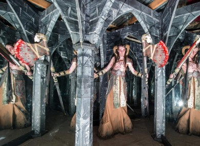Promotional image advertising this year's Haunted Spooktacular in Kells, Co Meath