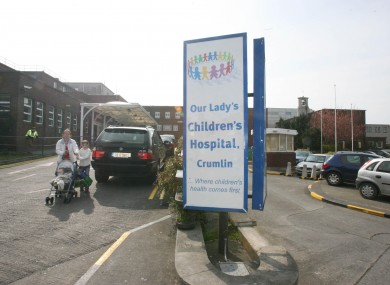 Our Lady's Children's Hospital in Crumlin