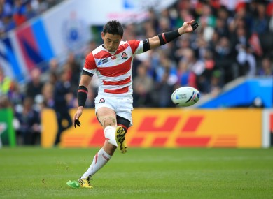 Ayumu Goromaru has helped Japan into a commanding lead.