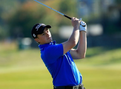 Dunne is in contention heading into the weekend.
