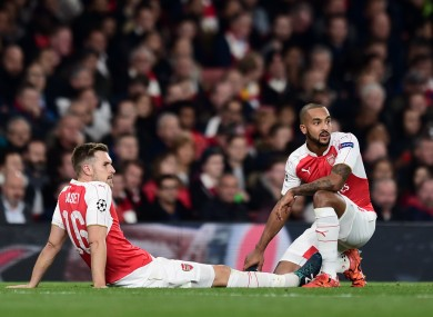 Ramsey is out of action until the end of November.