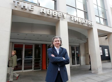 Abbey Theatre director, Senator Fiach Mac Conghail