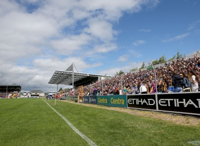 Declan O'Loughlin is calling for a boycott of Nowlan Park.