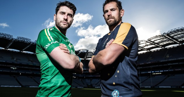 AS IT HAPPENED: Ireland v Australia, International Rules Series