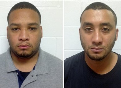 Marksville City Marshal Derrick Stafford, left, and Marksville City Marshal Norris Greenhouse Jr were both were arrested last week.