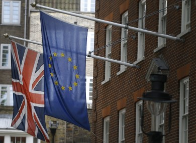 Poles apart: the UK and the EU.
