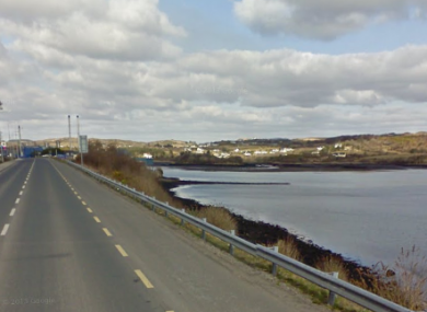 File photo: Donegal Road, Killybegs