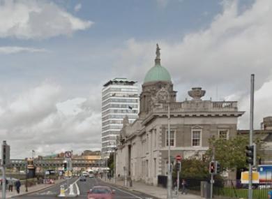 File photo: Custom House Quay, Dublin