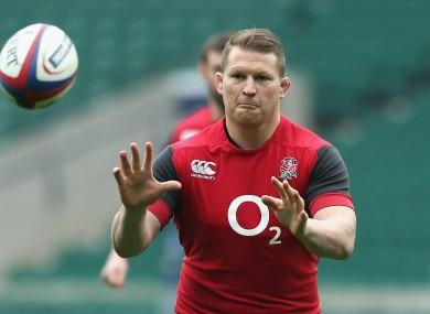 England hooker Dylan Hartley