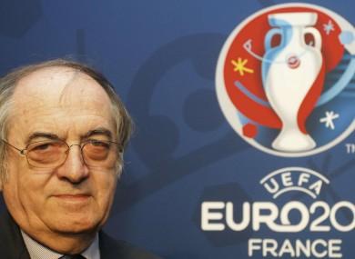 FFF president Noel Le Graet.