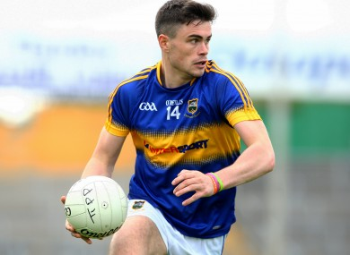 Michael Quinlivan scored 1-3 today for Clonmel Commercials.