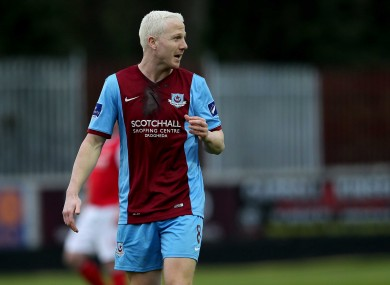 Sean Thornton has committed to Drogheda for next season.