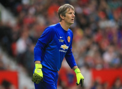 Van der Sar made nearly 200 appearances during a six-year spell at Man United.