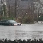 Flooding in Kenmare, county Kerry.<span class=