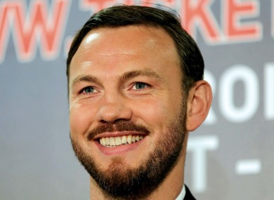 Andy Lee has laughed off suggestions he's too nice.