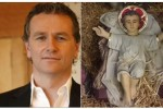 Dáithí Ó Sé's face has been spotted on this baby Jesus in Sligo town
