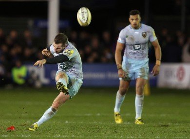 Hanrahan kicks Northampton to victory.