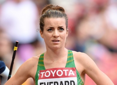 Ireland's Ciara Everard is among the athletes to have achieved Olympic qualification standards.