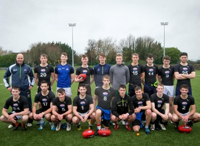 The group of participants at DCU.
