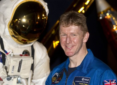 Tim Peake does not expect to set any personal bests on the International Space Station.