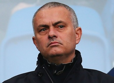 Mourinho has been linked with the Man United job of late.