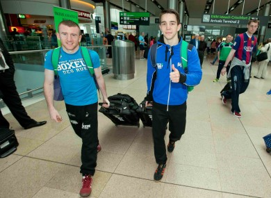 Paddy Barnes (left) and Michael Conlan qualified for the Rio 2016 Olympics via the WSB last season