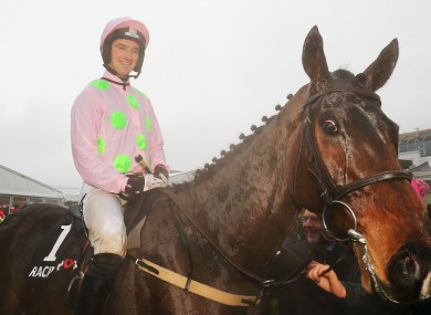 Jockey Patrick Mullins on board Douvan.