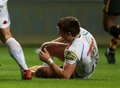 Slade suffered the injuries in the defeat to Wasps on Saturday.