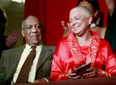 Bill and Camille Cosby pictured in 2009