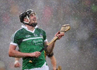 Declan Hannon impressed for Limerick today in Mallow.