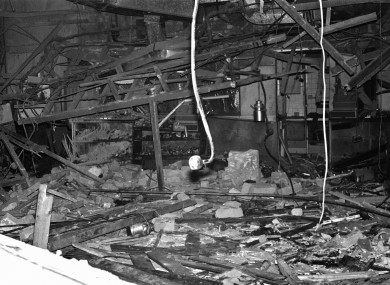 "A general view of ""The Mulberry Bush"" public house one of two public houses bombed in Birmingham, England on 22 November 1974"