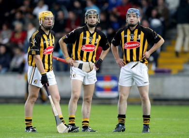 Kilkenny seniors Eoin Murphy (left) and Ger Aylward (right) were part of the Glenmore side that won today.
