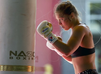 Ronda Rousey is unsure when she'll return to the octagon.