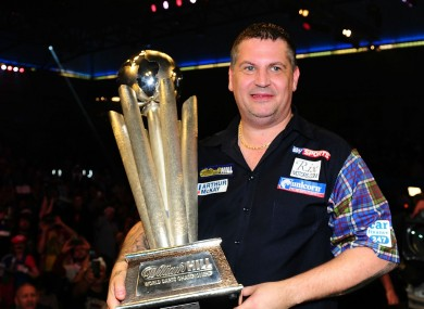 PDC World Champion Gary Anderson