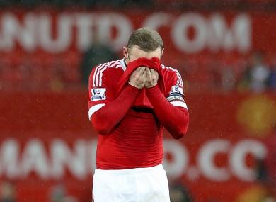 Manchester United have had an underwhelming season thus far.