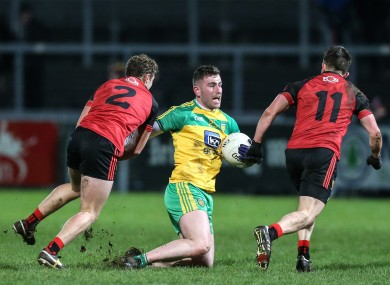 Patrick McBrearty impressed for Donegal tonight in Newry.