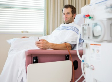Dialysis patient waiting for treatment at hospital (File photo).