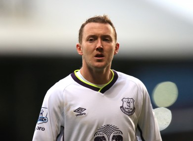 Aidan McGeady has yet to play in the Premier League this season for Everton.