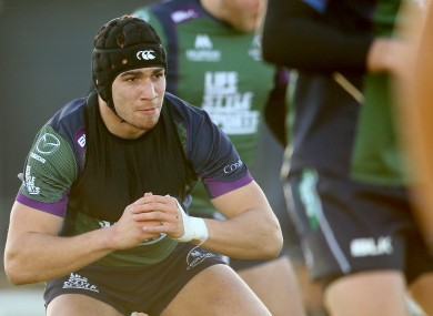 Ultan Dillane returns to the Connacht XV on Sunday.