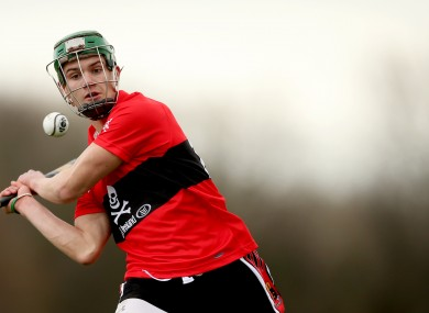 Alan Cadogan bagged 1-6 from play for UCC.