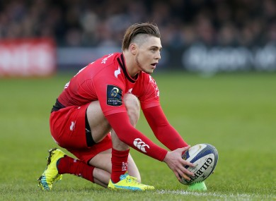 Toulon's James O'Connor.