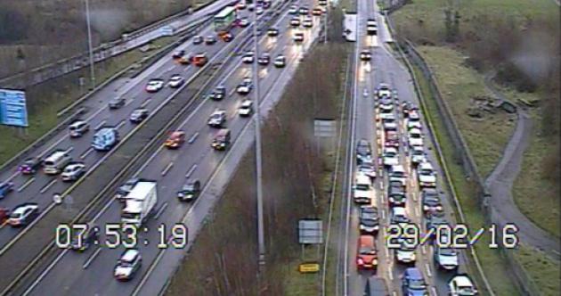 Commuting liveblog: Wet and slushy roads as rain spreads nationwide