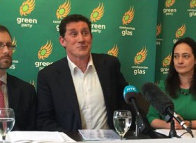 The Green launching their manifesto today
