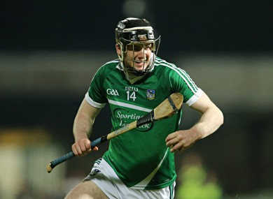 Declan Hannon struck 1-4 for Limerick today in Killarney.