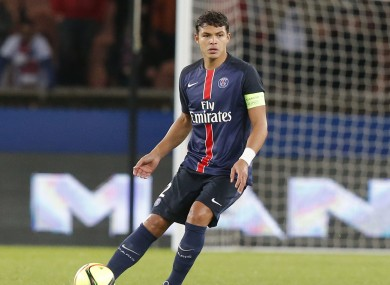 PSG's Thiago Silva is widely considered to be one of the world's best defenders.