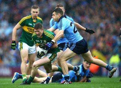 Dublin and Kerry players drew a sellout crowd to Croke Park last September.