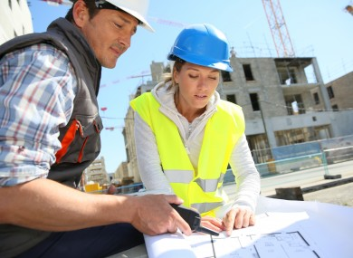 Societies in the construction sector are trying to get more women out on building sites